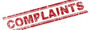 complaint sign